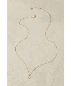 Anthropologie | Shimme Monogram Necklace