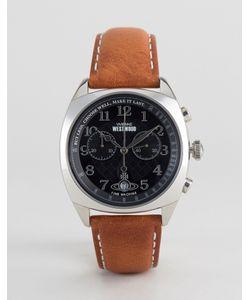 Vivienne Westwood | Leather Watch In Vv176bktn