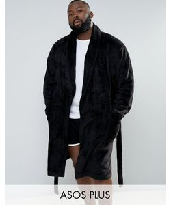 ASOS | Plus Fleece Shawl Robe