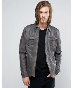 Goosecraft | Leather Shirt