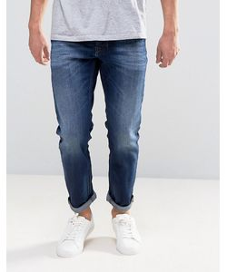 Diesel | Larkee Beex Regular Taper Jean 860l Dark Wash Abraisions