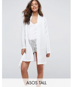 ASOS Tall | Waffle Hotel Robe In 100 Cotton