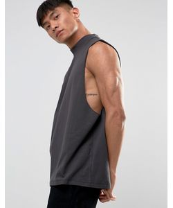 ASOS | Relaxed Turtleneck Tank In