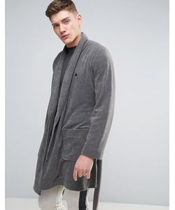 ASOS | Shawl Neck Towelling Robe With Logo