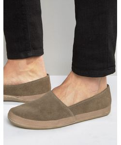 Frank Wright | Havana Suede Espadrilles In Taupe