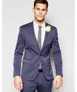 ASOS   Wedding Skinny Suit Jacket In Blue