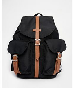 Herschel Supply Co. | Dawson Backpack In Black With Contrast Tan