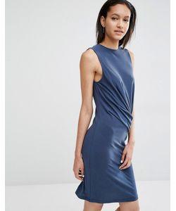 Just Female | Carey Bodycon Dress With Drape