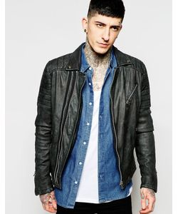 Goosecraft | Leather Biker Jacket