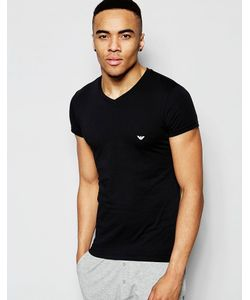Emporio Armani | Cotton V-Neck T-Shirt In Muscle Fit