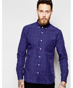 YMC | Shirt With Multicoloured Small Spot