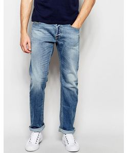 Diesel | Jeans Waykee 842h Loose Straight Fit Stretch Light Wash