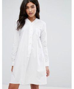 YMC | Basebell Shirt Dress
