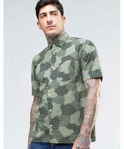 YMC | Spot Cloud Short Sleeve Shirt