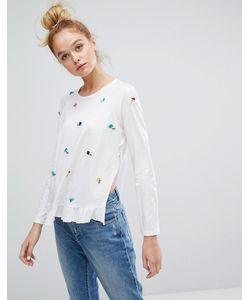 Sonia By Sonia Rykiel | Embellished Long Sleeve T-Shirt