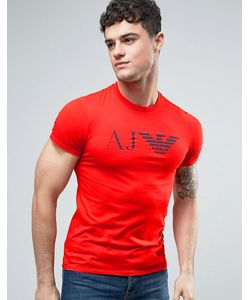 Armani Jeans | Eagle Logo T-Shirt Slim Fit In