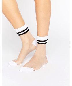 ASOS | Sheer 2 Stripe Ankle Socks