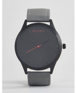 Bellfield   Watch With Strap And Dial