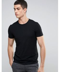 CELIO | Slim Fit T-Shirt Noir