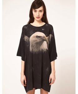 Emma Cook | Kaftan Dress With Eagle Print