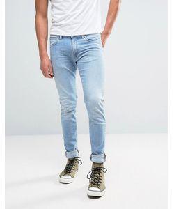 Edwin | Ed-85 Slim Tapered Drop Crotch Jean Light Trip Used Wash