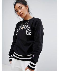 Champion | Crew Neck Sweatshirt With Varsity Logo