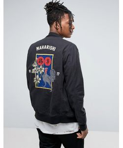 Maharishi   Souvenir Jacket In With Embroidery