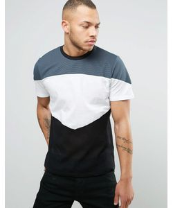 Diesel | T-Spider Cut And Sew T-Shirt