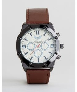 Brave Soul   Watch With Imitation Inner Dials