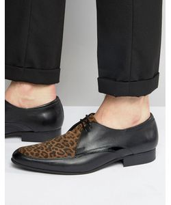 House of Hounds | Leopard Derby Shoes
