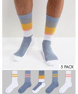 ASOS | Tube Style Socks 5 Pack