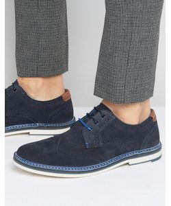 Ted Baker | Reith Suede Derby Brogues