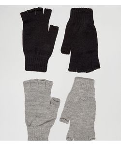ASOS | 2 Pack Fingerless Gloves In And Save