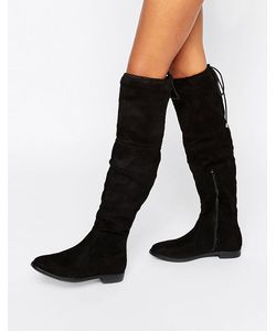 Truffle Collection   Over The Knee Flat Boots Mf
