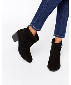 London Rebel | Pull On Ankle Boots Mf