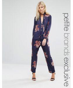 Alter Petite | Floral Print Pyjama Trouser Co-Ord