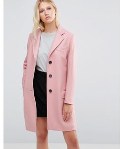 Gloverall | Chesterfield Coat In Pastel
