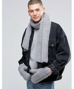 Adidas Originals   Scarf And Glove Set In Ay9042
