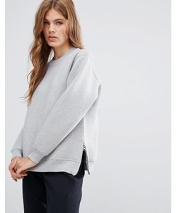 YMC | Side Slit Sweatshirt Mel