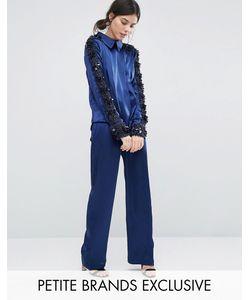 Starry Eyed Petite | Premium Satin Pyjama Trouser