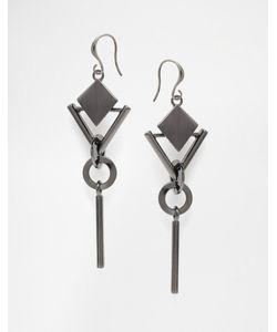 Pilgrim | Geo Drop Earrings