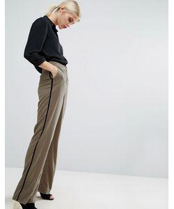ASOS | Pyjama Trousers In Velvet Stone
