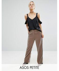 ASOS Petite | Pyjama Trouser In Velvet Mink