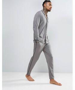 ASOS | Pyjama Bottom With Black Piping