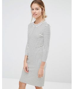 Just Female | Nine Stripe Dress /Black Str