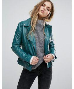 Muubaa | Chello Leather Biker Jacket