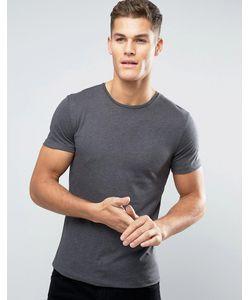 CELIO   T-Shirt Gris Chine