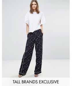 Y.A.S Tall | Starling Printed Pipe Edge Pant Co-Ord