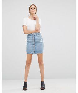 Just Female | Wayne Denim Skirt