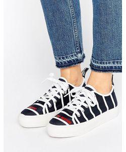 Love Moschino   Stripe Flatform Sneakers